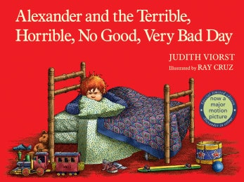 Books for Ages 0 to 1 - Alexander and the Terrible, Horrible, No Good, Very Bad Day by Judith Viorst