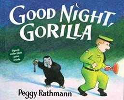 Books for Ages 0 to 1 - Good Night, Gorilla by Peggy Rathmann