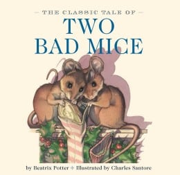 Books for Ages 0 to 1 - Two Bad Mice by Beatrix Potter