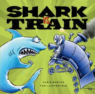 Shark vs Train by Chris Barton