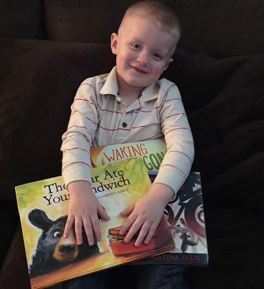 Boy with Little Fun Club Books