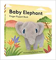 Books for Babies: Baby Elephant Finger Puppet Book
