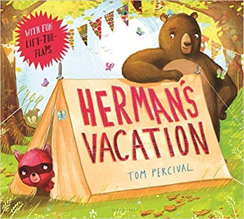 Books for Ages 3 to 4 - Herman's Vacation by Tom Percival