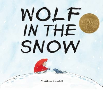 Good Books for 4 Year Old Boys and Girls - Wolf in the Snow by Matthew Cordell