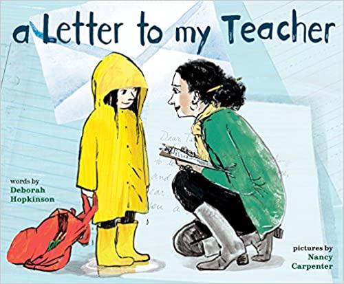A Letter to My Teacher Little Fun Club